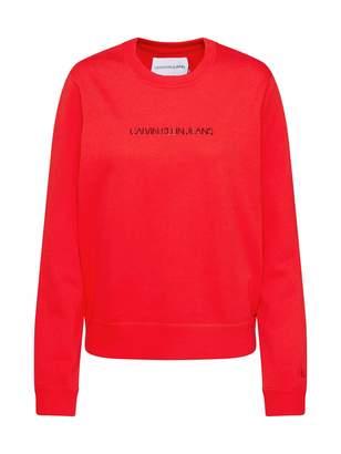 Calvin Klein Jeans Women's INSTITUTIONAL Regular Crew Neck Sweatshirt