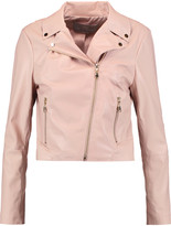 Tart Collections Mollie faux leather biker jacket