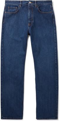 Balenciaga Denim Jeans - Men - Blue
