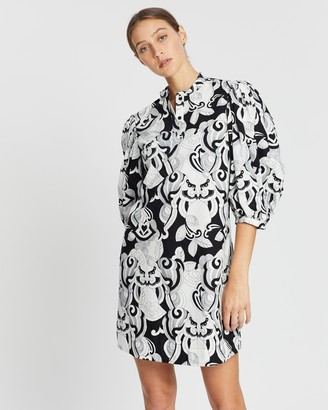 See by Chloe Buttoned Smock Dress