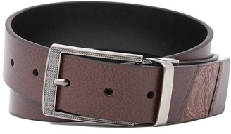 Robert Graham Terdel Reversible Leather Belt