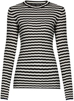 Proenza Schouler Striped silk and cashmere-blend sweater