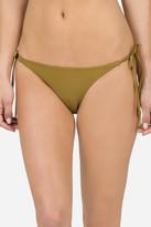 Volcom Simply Solid Side Tie Bikini Bottom