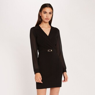 Morgan Belted Bodycon Dress