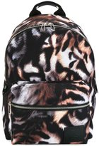 Paul Smith tiger stripe print backpack
