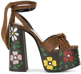 Saint Laurent Paige sandals