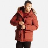 Men Down Hooded Jacket