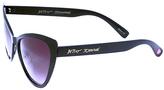 Betsey Johnson Black Cat-Eye Sunglasses