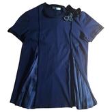 Prada Navy Cotton Top