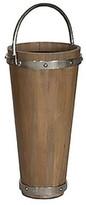 Wood Bucket Umbrella Stand