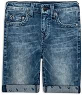 True Religion Boys' Faded Cuffed Shorts - Little Kid, Big Kid
