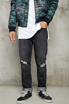 Forever 21 FOREVER 21+ Distressed Jeans