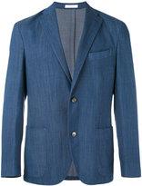 Boglioli two button blazer - men - Cotton/Spandex/Elastane/Cupro/Virgin Wool - 48