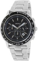 DKNY Men's NY1477 Silver Stainless-Steel Quartz Watch with Dial