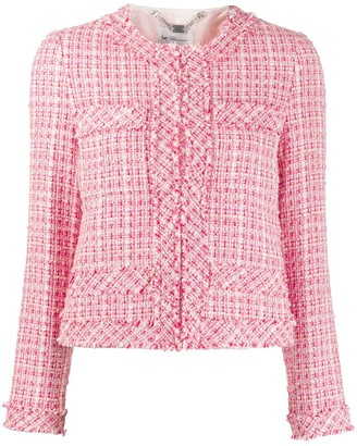 Be Blumarine Tweed Cropped Jacket