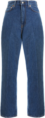 Acne Studios 1993 Cropped Tapered-Leg Jeans
