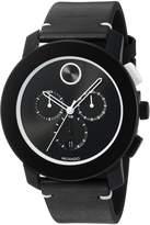 Movado Men's 3600386 Analog Display Swiss Quartz Black Watch