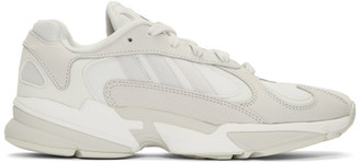 adidas White Yung 1 Sneakers