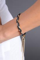 Raquel Hirth Braided thin Wrap Bracelet