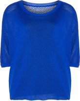 Isolde Roth Plus Size Round neck knit sweater