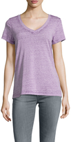 Threads 4 Thought Vintage Wash Cotton V Neck Tee