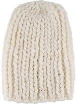 Neff Women's Cara Textured Beanie with Oversized Yarn