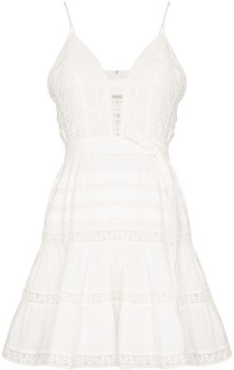 Zimmermann Honour lace insert mini-dress