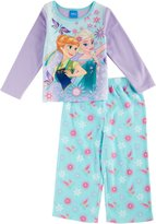 "Disney Frozen Little Girls' Toddler ""Flower Magic"" 2-Piece Pajamas"