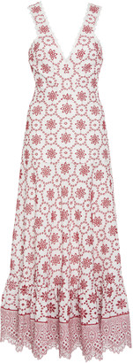 Alexis Eugenia Printed Linen Dress