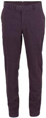 Eleventy Soft Stretch Flat Front Pant