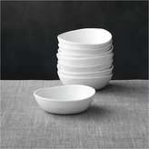 "Crate & Barrel Set of 8 Mercer 5"" Mini Bowls"