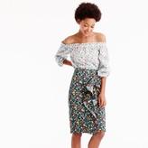 J.Crew Ruffle skirt in Liberty® Edenham floral
