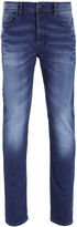 Boss Orange 90 Made Medium Blue Tapered Fit Jeans