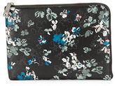 Ivanka Trump Rio Floral-Print Leather Tech Clutch