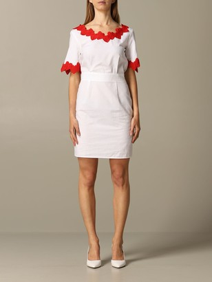 Love Moschino Dress Dress With Heart Edges
