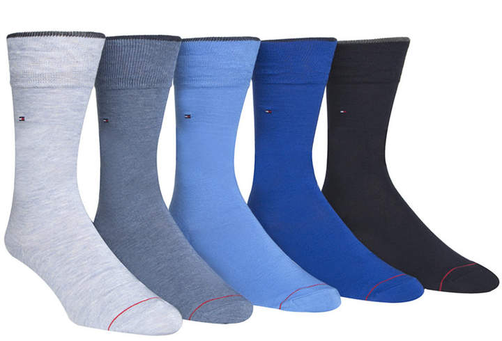Tommy Hilfiger Men's 5-Pack Knit Socks