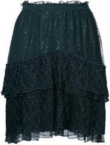 Just Cavalli high waisted skirt - women - Polyamide/Polyester - 40