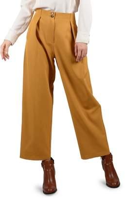 Molly Bracken Pleated Cropped Pants