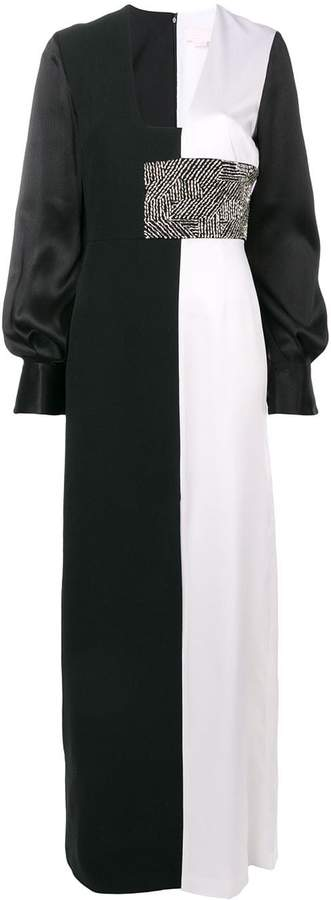 Genny empire line long dress