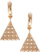 Asos 3D Triangle Earrings