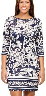M&Co Izabel floral bodycon dress