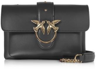 Pinko Black Love Soft Baby Simply Shoulder Bag