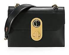 Christian Louboutin Women's Large Elisa Leather Shoulder Bag