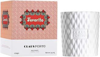 Claus Porto Favorito Candle, 9.5 oz.