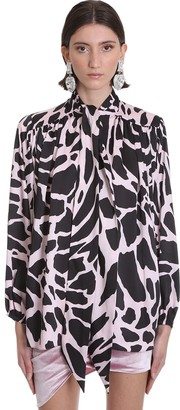 Alexandre Vauthier Blouse Blouse In Rose-pink Polyester