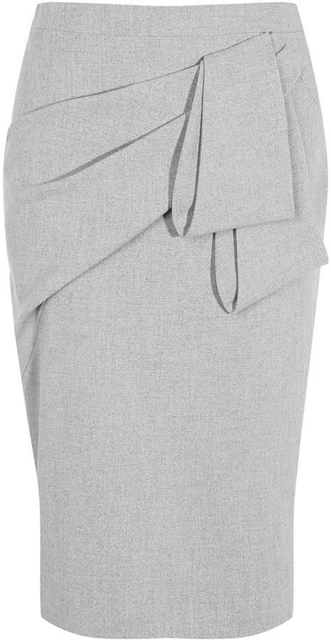 Karen Millen Folded Pencil Skirt