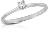 Forzieri 0.04 ct Prong-Set Diamond Solitaire Ring