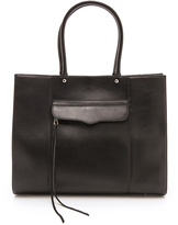 MAB Tote with Gold Tone Hardware