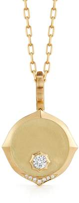 Jade Trau Sophisticate Medallion Necklace - Yellow Gold