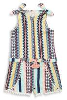 Jessica Simpson Little Girl's Printed Rompers